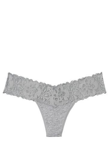 Victoria's Secret Lace Waist Thong Panty