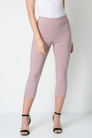 Roman Red Cropped Stretch Trouser