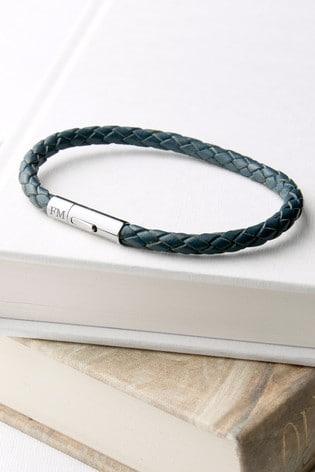Personalised Woven Bracelet by Treat Republic
