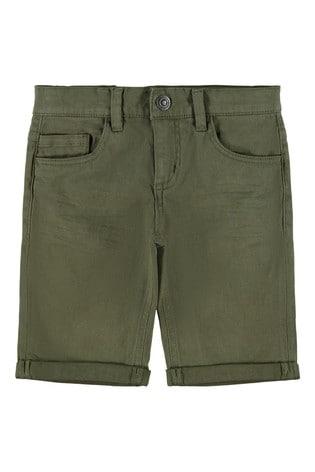 Name It Ivy Green Chino Shorts