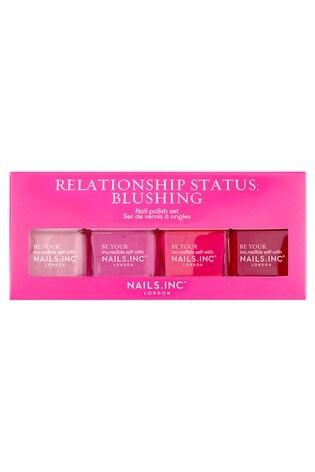 NAILS INC Relationship Status Blushing Quad (Worth £44)