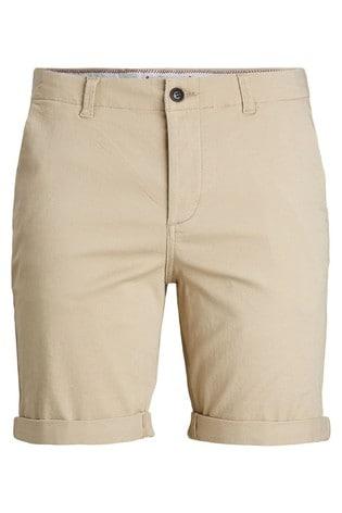 Jack & Jones Beige Chino Shorts