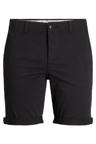 Jack & Jones Black Chino Shorts
