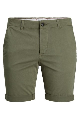 Jack & Jones Dusty Olive Chino Shorts