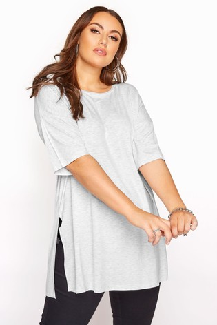 Yours Grey Oversized T-Shirt