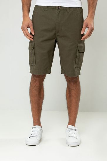 Threadbare Khaki Cargo Short