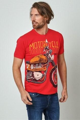 Joe Browns Red Motorcycle Club Tee