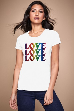 Personalised Lipsy Love Love Love Women's T-Shirt by Instajunction
