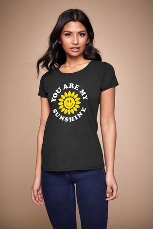 Personalised Lipsy You Are My Sunshine Women's T-Shirt by Instajunction