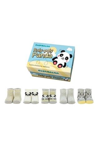 Cucamelon RolyPoly Newborn Pack of 5 Socks