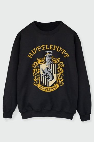 Womens Hufflepuff Crest Sweatshirt by Harry Potter
