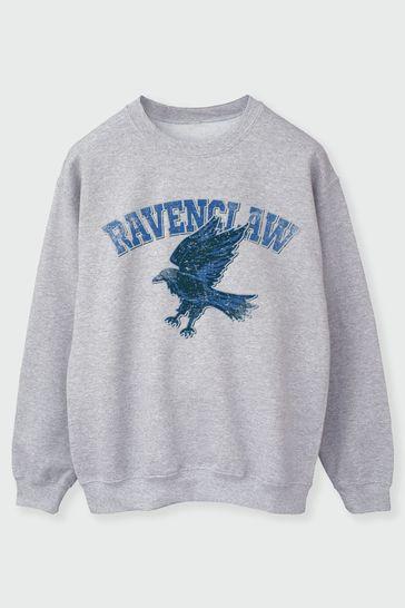 Womens Ravenclaw Sport Emblem Sweatshirt by Harry Potter
