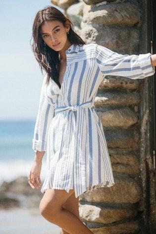 Lipsy Stripe Shirt Dress