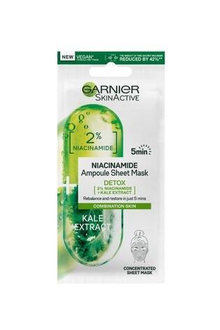 Garnier SkinActive Niacinamide Detox Ampoule Sheet Mask 15g
