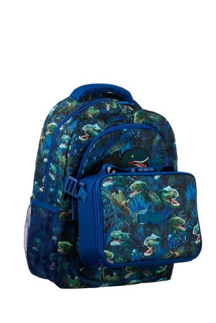 Smiggle Blue Galaxy Attach Backpack