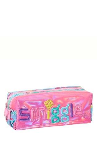 Smiggle Pink Food Galaxy Twin Zip Pencil Case