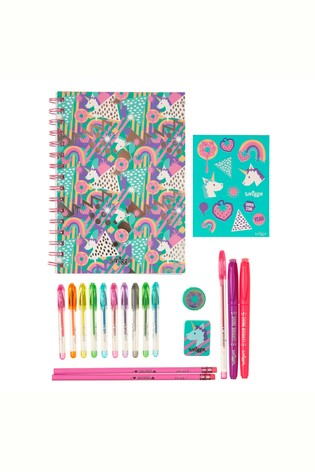 Smiggle Blue Essentials A5 Stationery Kit