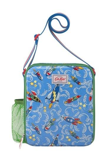 Cath Kidston Kids Blue Rockets Lunch Bag