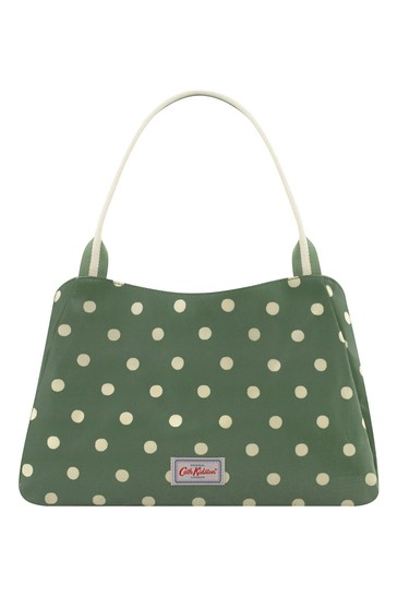 Cath Kidston Green The New Day Spot Bag
