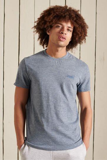 Superdry Organic Cotton Vintage Logo Embroidered TShirt
