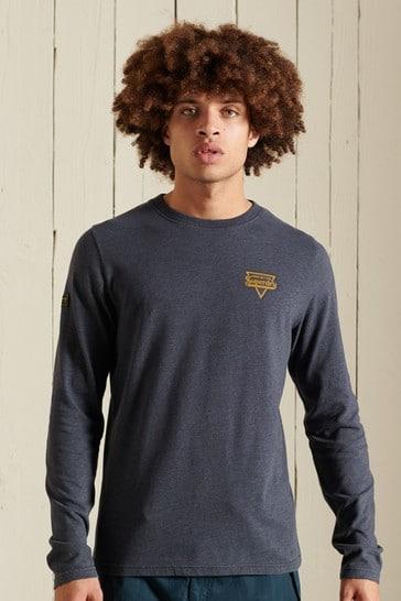 Superdry Heritage Mountain Long Sleeve Top