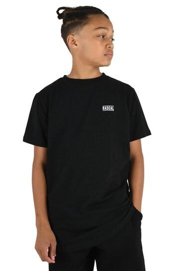 Rascal Boys Black Essential T-Shirt