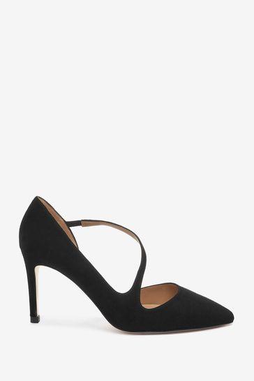 L.K.Bennett Black Heather Victoria Shoes