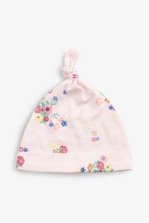 ec8071b069e Buy Multi Floral Tie Top Hats Three Pack (0-18mths) from Next Russia