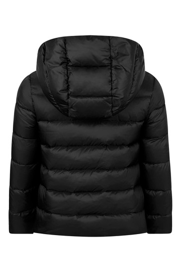 Girls Black Down Padded Alithia Jacket