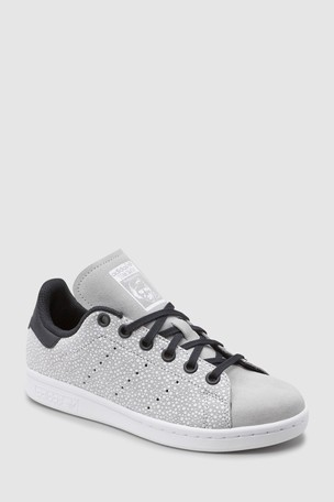 Buy adidas Originals Grey Spot Stan Smith Youth from Next