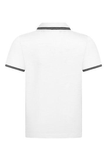 Baby Boys Navy Cotton Polo Shirt