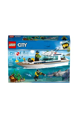 Buy LEGO® Diving Yacht Boat Toy 60221 from Next Ireland