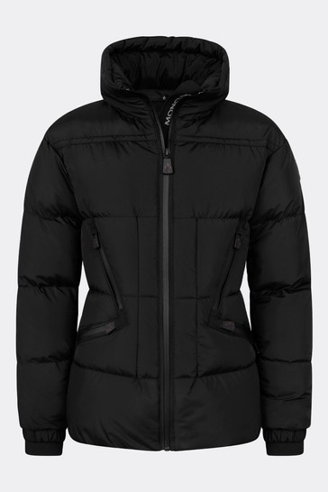 Girls Black Down Padded Dixence Ski Jacket