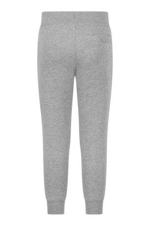 Boys Grey Cotton Joggers