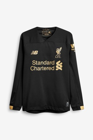 competitive price ec02c ed94d Buy New Balance Liverpool FC 19/20 Goalkeeper Youth Jersey ...