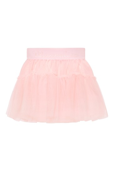 아기 소녀 핑크 스커트