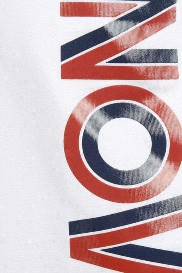 Boys Cotton Jersey Logo T-Shirt