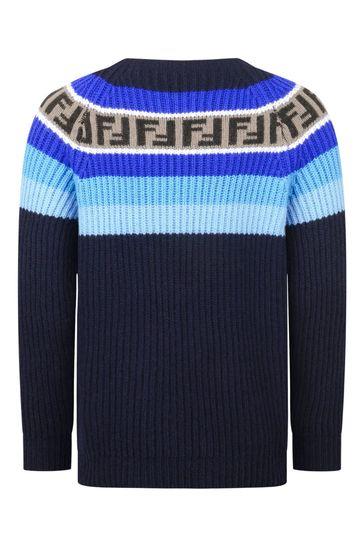 Girls Wool & Cashmere Sweater