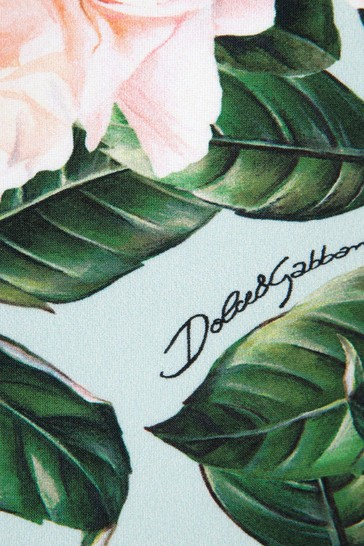 Dolce & Gabbana Girls Pink Swimsuit