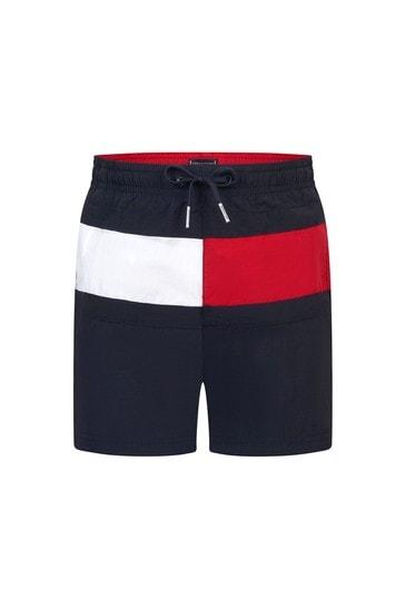 Tommy Hilfiger Boys Navy Swim Shorts