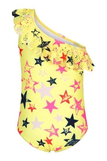 Molo Girls Yellow Swimsuit