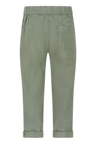 Boys Khaki Cotton Trousers