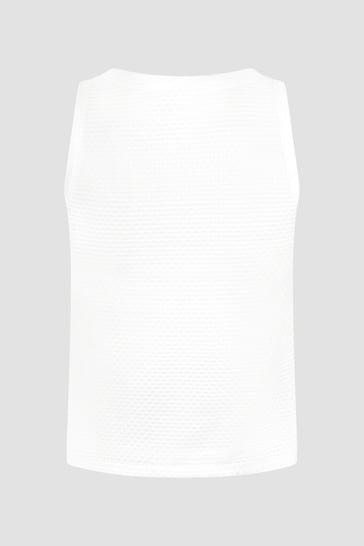DKNY Girls White Tank Top