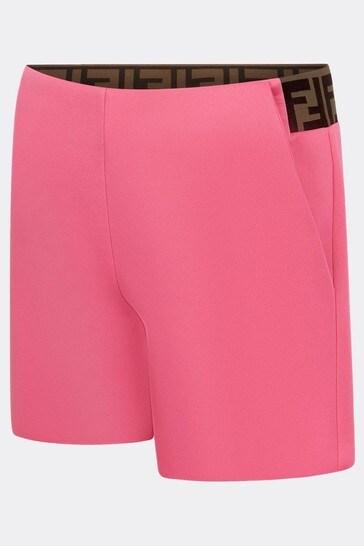 Girls Beige Shorts
