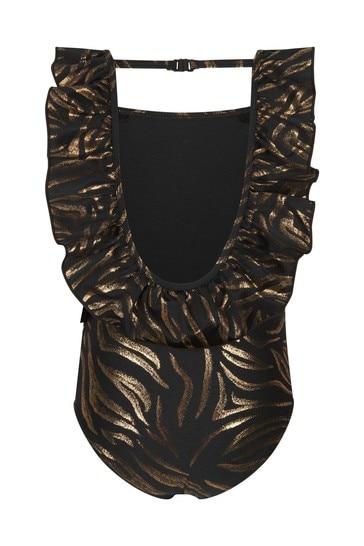Molo Girls Black Swimsuit