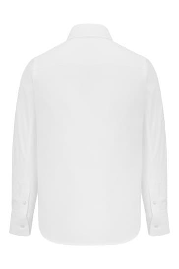 Neil Barrett Boys White Cotton Shirt