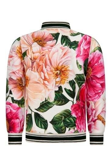 Dolce & Gabbana Baby Girls Pink Cotton Sweat Top
