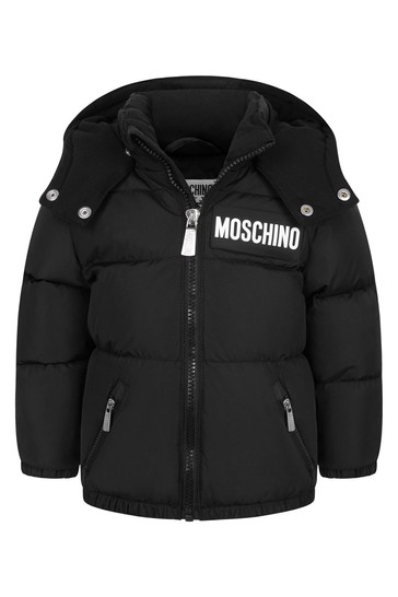 Baby Black Down Padded Jacket