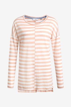 Peach Stripe Tunic