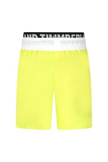 Timberland® Boys Yellow Swim Shorts